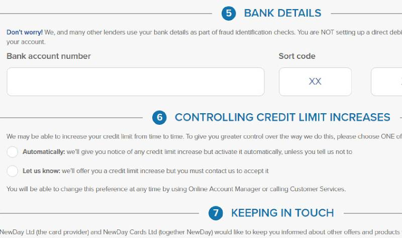 aqua card credit limit increase