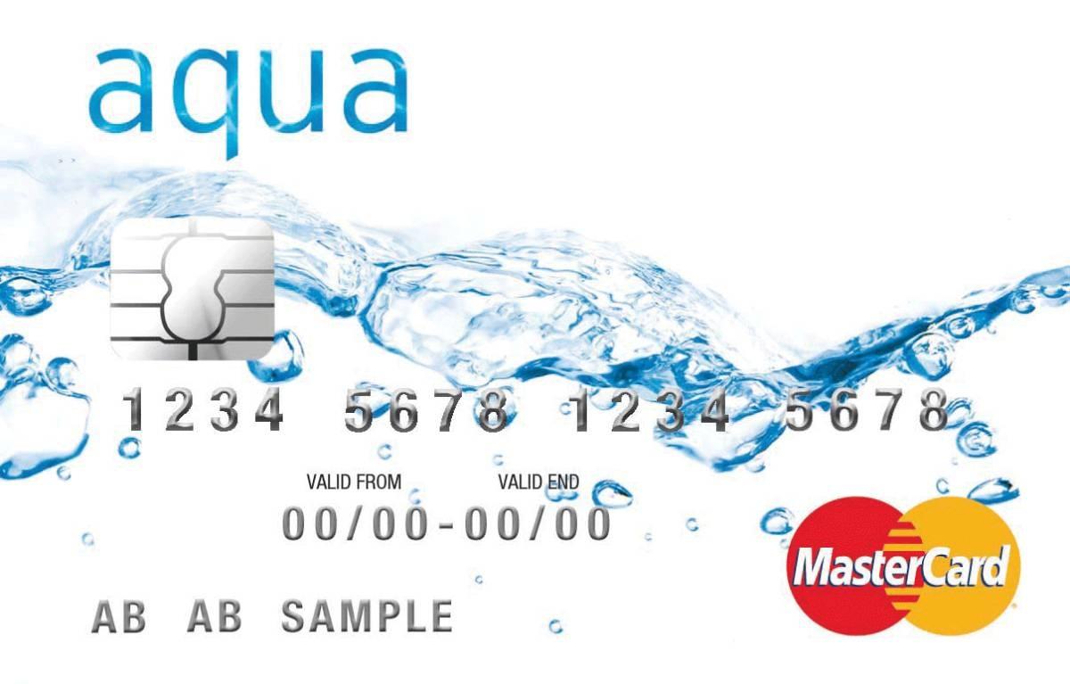 Aqua MasterCard