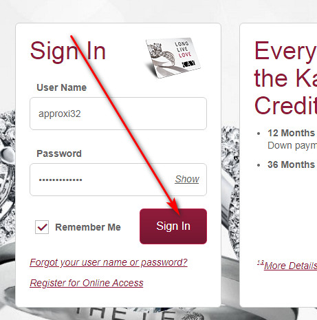 Kay Jewelers credit card benefits