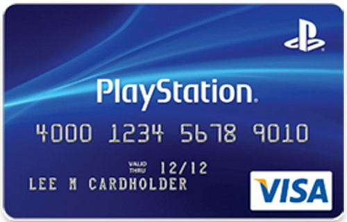 playstation credit card review