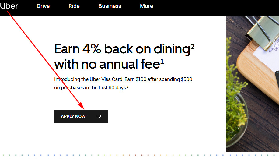 uber barclays credit card