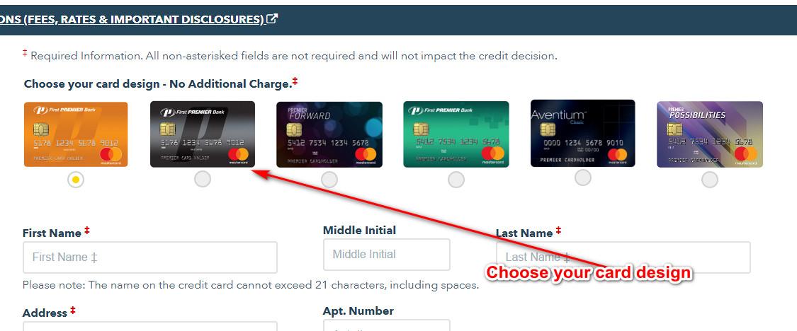 First Premier Credit Card Login