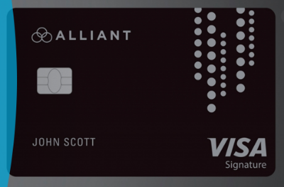 Alliant Cashback Visa Signature