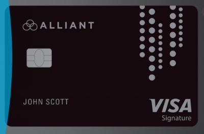 Alliant Cashback Visa Signature