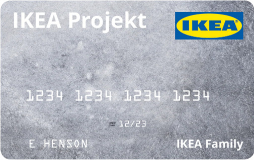IKEA Project Credit Card