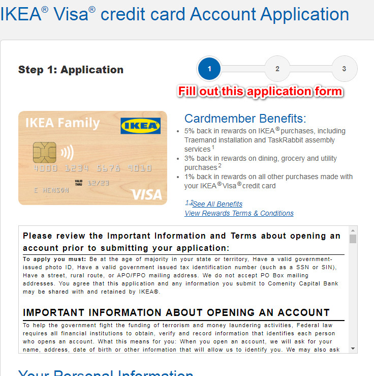 IKEA Credit Card Review