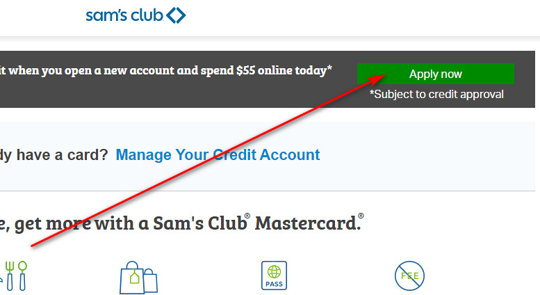 Sam's Club MasterCard Credit Card