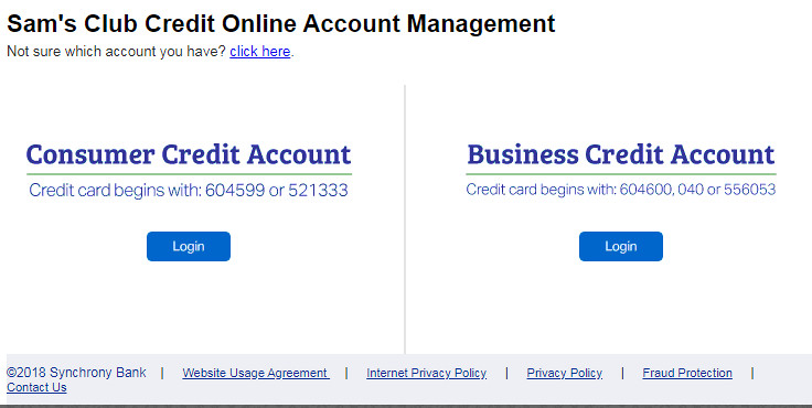 Sam's Club Credit Card Application