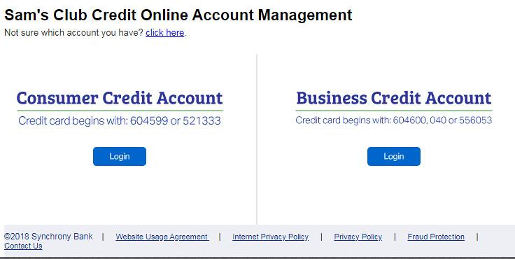 Sam's Club Credit Card Application